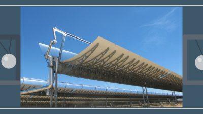 Sistema de almacenamiento de energía termosolar en silicio fundido