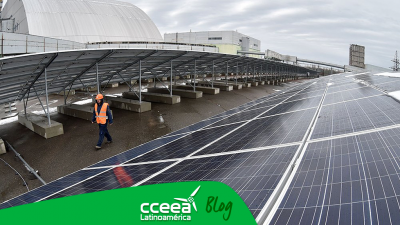 Chernóbil surge al inaugurar planta de energía solar