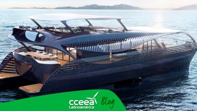 Yate capaz de navegar con energía solar creado por SolarImpact