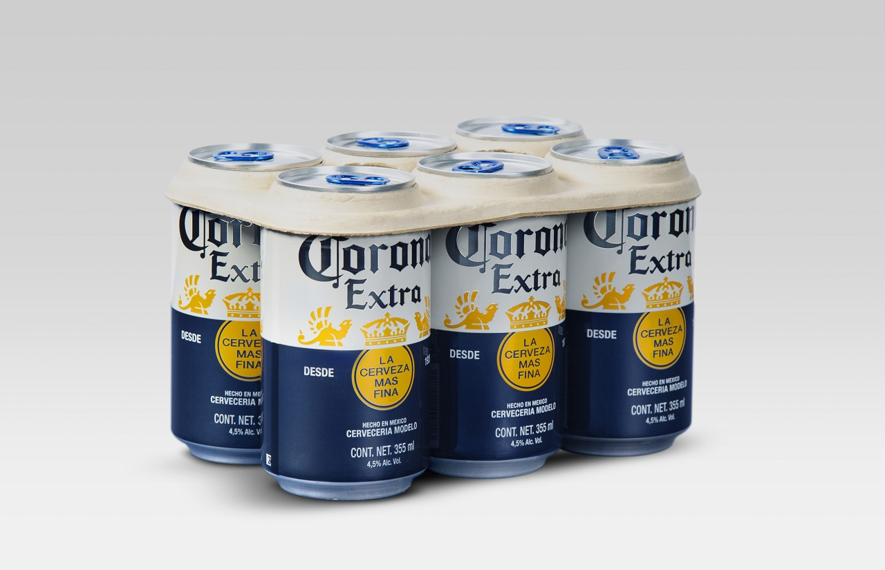 El six pack de Cerveza Corona