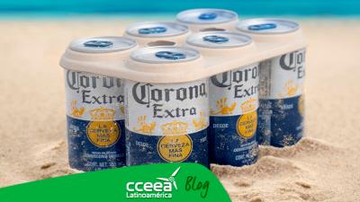 El six pack de Cerveza Corona dejará de ser de plástico