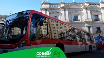 Chile cuenta con una flota nueva de autobuses eléctricos