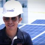 Luis Marcelo, participante del curso bombeo solar fotovoltaico