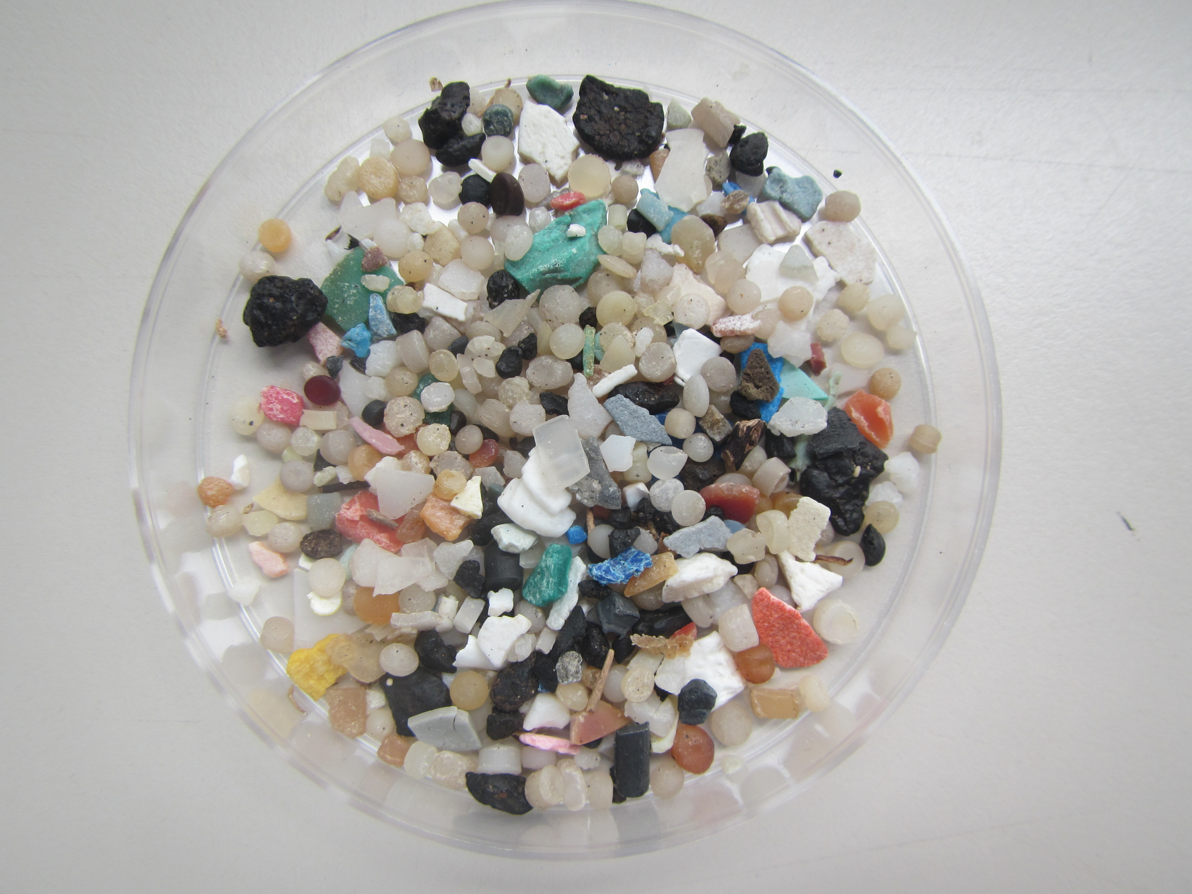 Los microplásticos