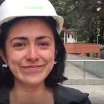 Natalia Gama, participante de sistemas off grid