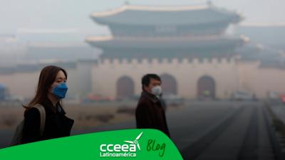 Corea del Sur provocará lluvia artificial para combatir la contaminación