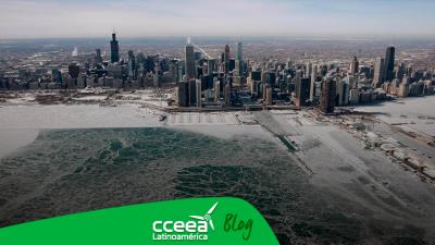 Chicago registra temperaturas más frías que el Everest y la Antártida