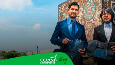 Egresados de la UNAM desarrollaron cargadores portátiles solares
