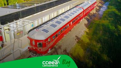 El primer tren solar será turístico y conectará a Argentina con Perú