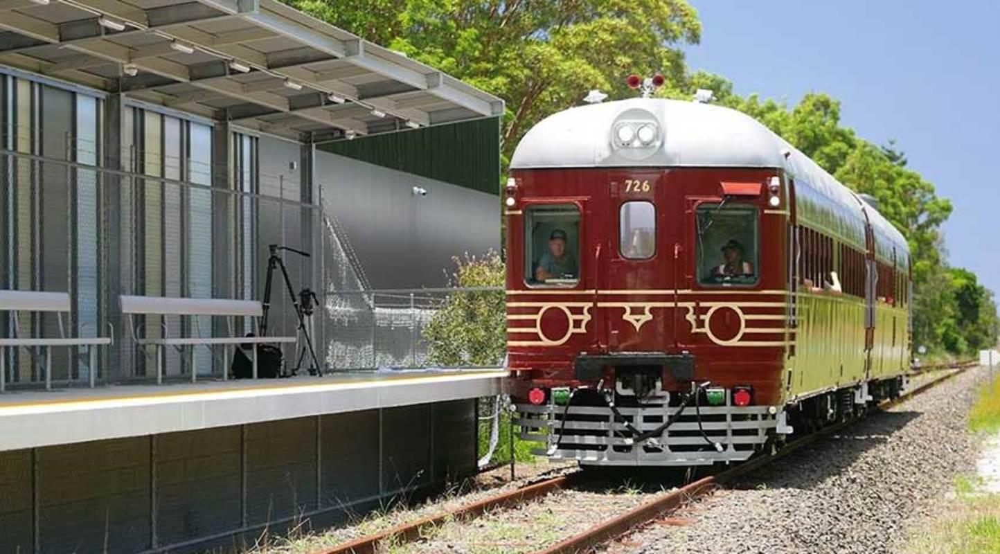 El primer tren solar