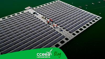 Chile crea la primera planta solar flotante