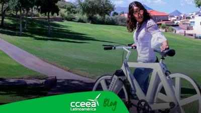 Esta bicicleta ecológica de papel kraft fue creada por un mexicano