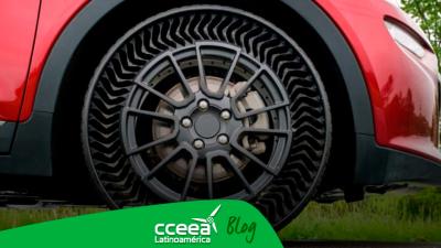 Michelin y GM están desarrollando un neumático sin aire