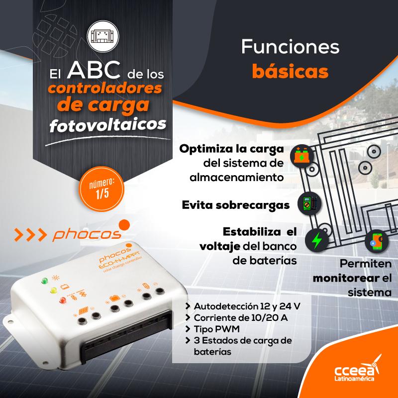 El ABC de los Controladores de Carga Fotovoltaicos