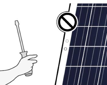 Manipulación de módulos fotovoltaicos