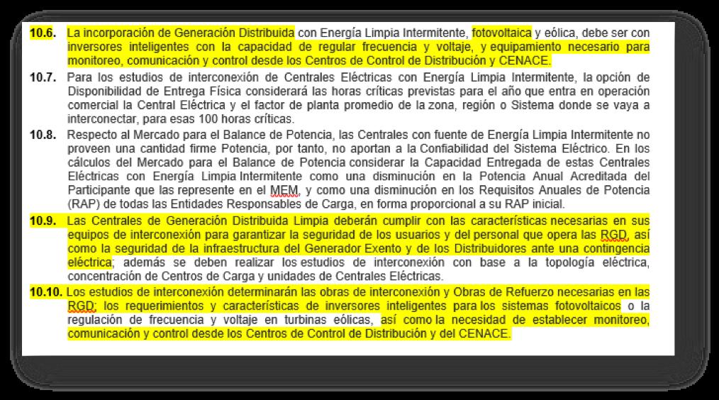 Efectos directos e indirectos del coronavirus sobre el comercio de sistemas fotovoltaicos en México:Nuevos requisitos técnicos para interconexión