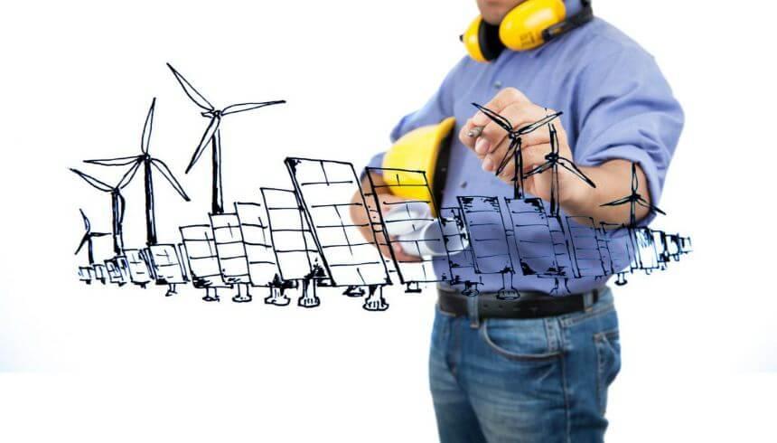 modelo de negocios de energía solar