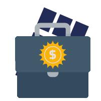 8 de marzo, Modelo de negocio para empresas de energía solar
